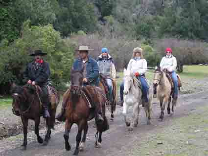 Excursions a cheval Andes